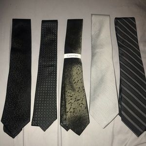 Calvin Klein 5 ties
